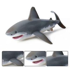 Lebensechtes Hai Spielzeug Realistische Bewegungssimulation Tiermodell Toy Kids