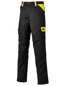 Everyday Workwear Bundhose - ED24/7 - Farbe: Black/Yellow - Größe: 126