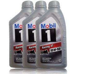Mobil 1 Racing 4T 15W-50 3x1 Liter