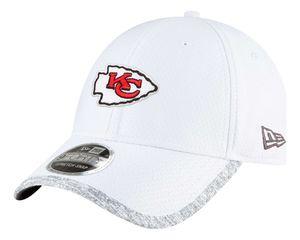 New Era - NFL Kansas City Chiefs 2021 Superbowl Sideline 9Forty Snapback Cap - Weiß : Weiß One Size Farbe: Weiß Größe: One Size