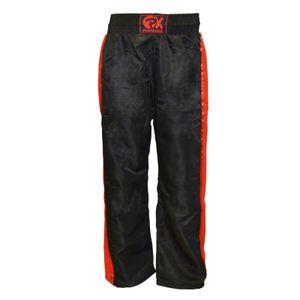 Phoenix PX Kickbox Hose Dynamic Mesh schwarz rot - Körpergröße: 160 cm