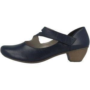 Rieker 41793-15 Schuhe Damen Spangenpumps , Größe:39 EU, Farbe:Blau