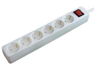 Brennenstuhl 1550620416, 1.4 m, Weiß, Weiß, 230 V