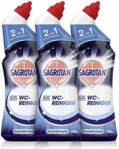 Sagrotan WC-Reiniger Atlantikfrische 3er-Pack (3x750ml)