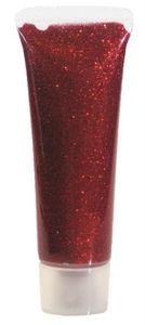 Glitzer Gel Rot-Juwel 18 ml