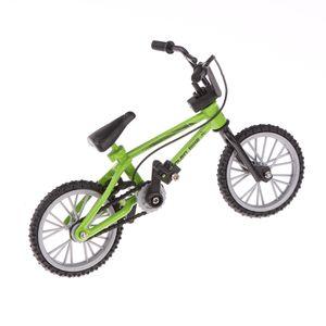 Finger Mountainbike BMX Fixie Fahrrad Kreatives Spielzeug Geschenk- Grün