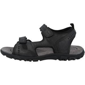 Geox S.STRADA Herren Sandale - Sandaletten schwarz Freizeit NEU
