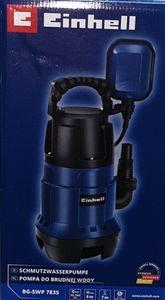 Einhell BG-SWP 7835 Schmutzwasserpumpe Wasserpumpe Gartenpumpe Schwarz/Blau