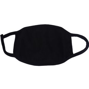 5 Stück Atem Mundschutz Staubmaske Schutzmaske für Staubpartikel |Doppelschicht  reiner Baumwolle Schwarz