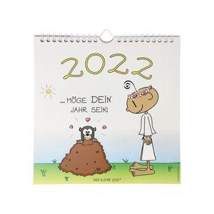 Goebel Der kleine Yogi Wandkalender 2022, 21 x 21,5 cm