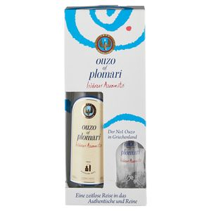OUZO of Plomari 0,7L alc. 40% vol. Inkl. Glas