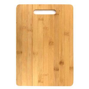 Schneidebrett aus Bambus 36x25cm Küchenbrett Holz Schneide Brett Servierbrett Brettchen