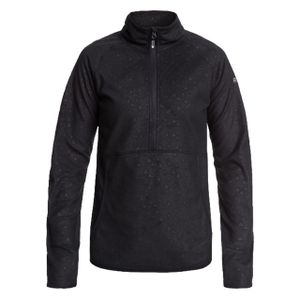 Roxy Damen Fleecepullover Cascade TRUE BLACK RISINGPEAK EMBOS XL