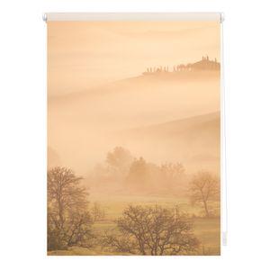 Rollo Klemmfix, ohne Bohren, blickdicht, Toskana - Orange 100 x 150 cm (B x L