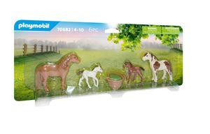 Ponys mit Fohlen