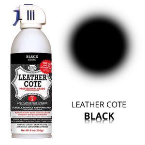 Leder-Spray Black
