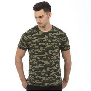 AWDis Herren Camouflage T-Shirt PC2978 (2XL) (Grün Camo)