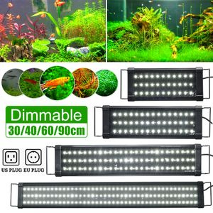 30/40/60/90cm Dimmbar LED Aquarium Beleuchtung Aufsetzleuchte Wasserdicht - 40CM 45LED