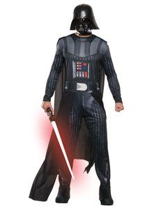 Darth Vader Star Wars-Kostüm Halloween Karneval schwarz