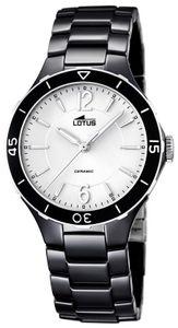 Lotus Damen Armbanduhr schwarz 15931/3 Ceramic Uhr