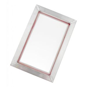 Siebdruckrahmen aus Aluminium,Siebdruckrakel für allgemeine Siebdruck Fabrik 20x30cm 90T wie beschrieben