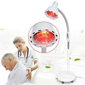 275W Timing Infrarotlampe Strahler Lichttpiegerät mit Rädern Heizlampe Rotlicht Wärmelampe Physiotpie Elektromagnetische