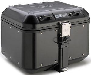 GiVi Trekker 46 Dolomiti ALU-Koffer Monokey, schwarz 46 L. Volumen / Max Zuladung a 10 kg