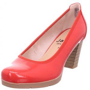 Jana Woms Court Shoe Damen Pumps Stiletto High Heels Abendschuhe Ball rot 8-8-22408-26/500 : 40