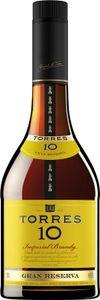 Torres Brandy 10 Jahre Gran Reserva   38 % vol   0,7 l