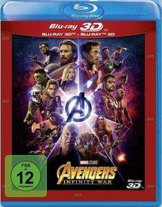 Avengers: Infinity War (BR) 3D2D  2Disc Min: 149DD5.1WS *Nachfolgeprodukt