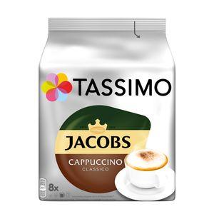 Tassimo Jacobs Cappuccino Classico | 8 T Discs, Kaffeekapseln