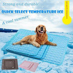 Sommer Cooling Mat Dog Hund Kühlmatte Cool Bed Pad Kissen für Haustier Katze / Hund 102*70cm
