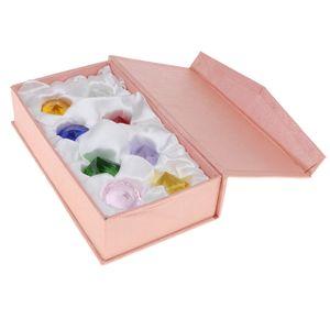 8pcs Kristallglas Diamant Edelstein Set Kinder Schatz Spielzeug Birthstone Geschenk