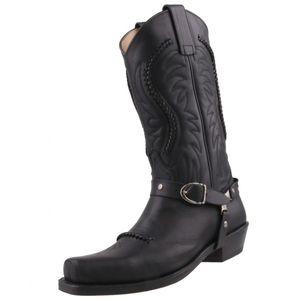 Sendra Cowboystiefel 3434 Schwarz, Schuhgröße:EUR 42