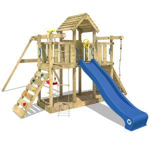 WICKEY Smart Twister Spielturm Kletterturm Stelzenhaus Schaukel Rutsche Sandkasten