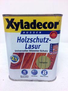 Xyladecor Klassiker Holzschutzlasur 0,75 L Salzgrün