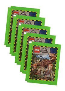 Blue Ocean Jurassic World Lego Sticker (2020) - 5 Tüten - Sammelsticker