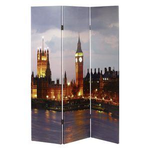 Paravent Big Ben, mit LED