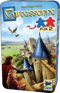 Schmidt 51420 - Carcassonne® für 2, Familienspiel, Brettspiel, Reisespiel 4001504514204