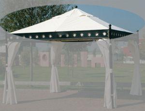 Siena Garden Ersatzdach natur zu Pavillon Korfu 350x350cm