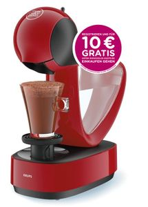 Krups Espressomaschine NESCAFÉ® DOLCE GUSTO® Infinissima KP1708, rot