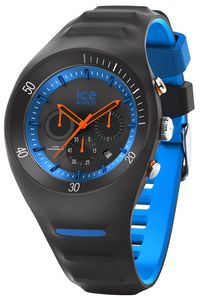 Ice-Watch 014945 Herren-Chronograph Pierre Leclercq Schwarz/Blau L