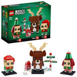 LEGO®  Brick Headz Rentier+Elfen