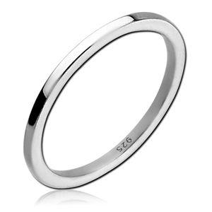 viva-adorno Gr. 53 (16,8 mm Ø) Damen Ring Fingerring 925 Sterlingsilber Mädchen Ring Kinder Mittelring Knöchelring Verlobungsring SR39_8,
