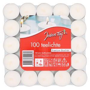 Jeden Tag Teelichter Flatpack 100 Stück