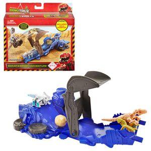 Winnis Flucht-Abenteuer | DinoTrux | Rollende Reparatilien Spiel-Set | Mattel