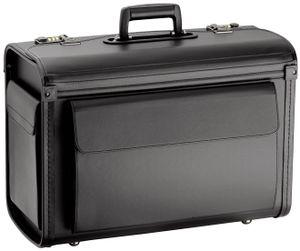 D&N Business & Travel Pilotenkoffer 2809-01, D&N Farbe:schwarz
