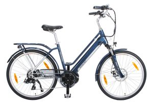 smartEC TrekX-MD Trekking Pedelec/E-Bike 26 Zoll Mittelmotor