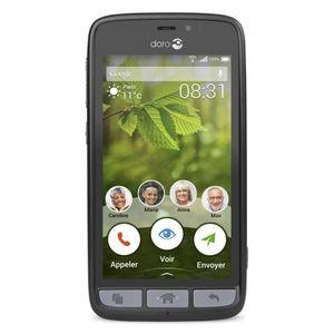 Doro 8030 Senioren Smartphone Schwarz Black Android 4G 8GB Neu in White Box