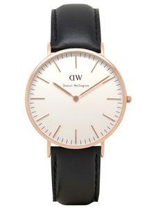 Daniel Wellington Uhr - Herrenuhr Sheffield Rose Gold - 0107DW